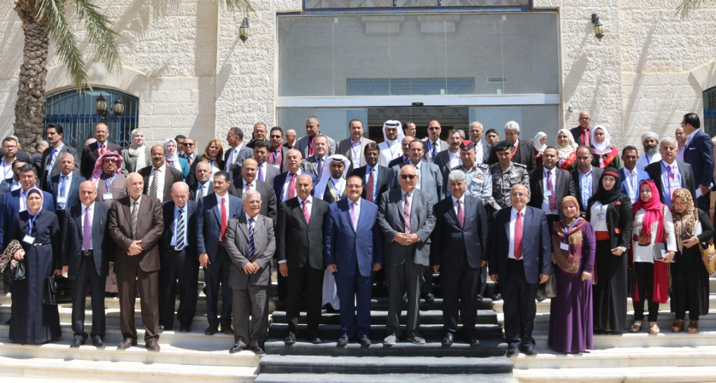 Zarqa University  - The End of the Community Responsibility of Arab Universities Conference