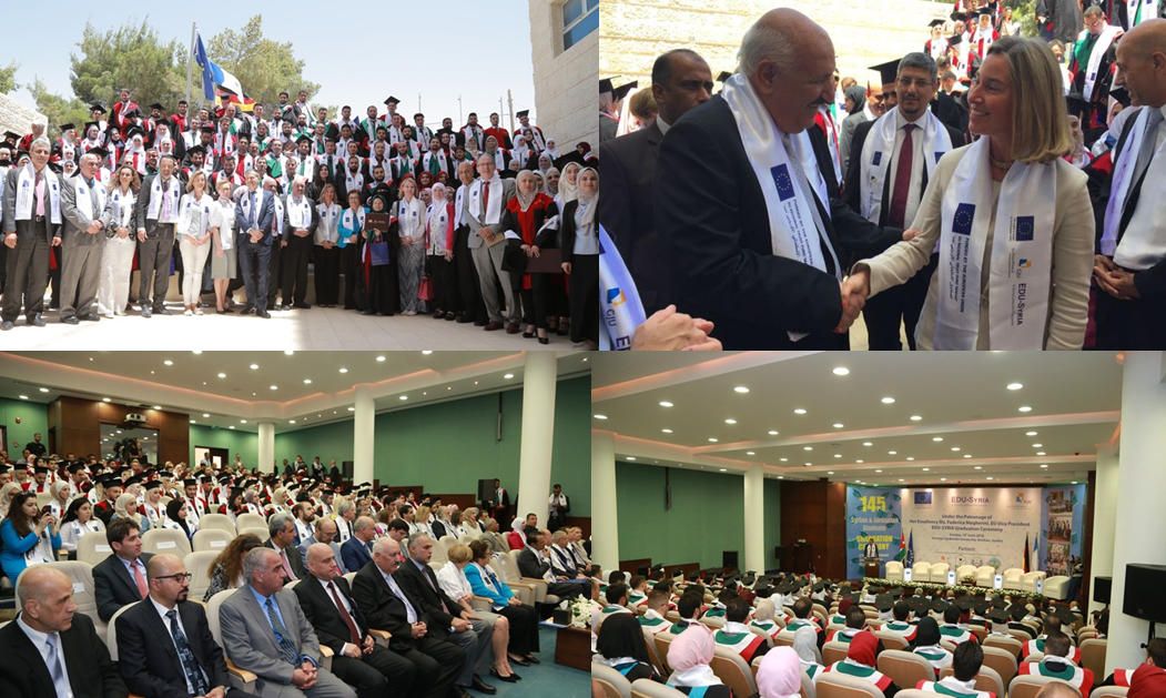Zarqa University  - Graduation of the Second Batch of the Syrian-Jordanian Education Project