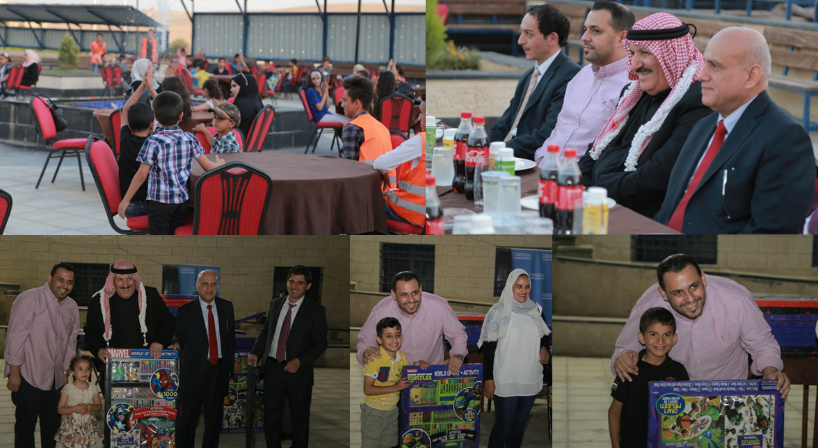 Zarqa University  - Zarqa University Schools and KGs Supports Orphans' Iftar